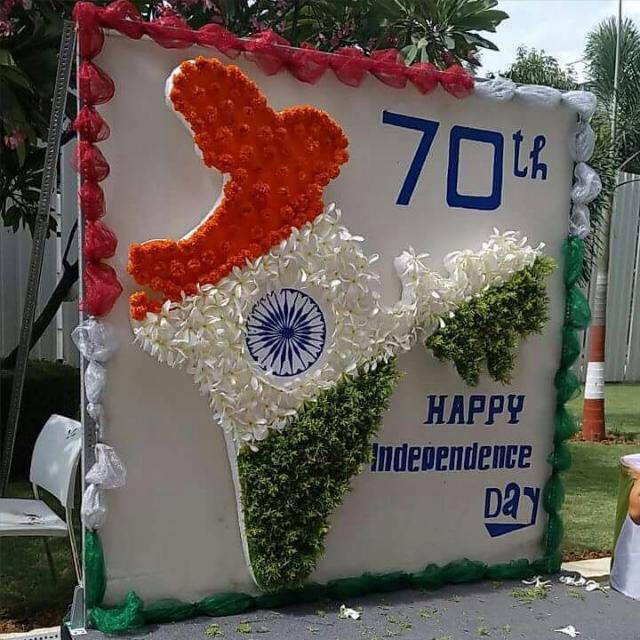 Happy independence day to all
